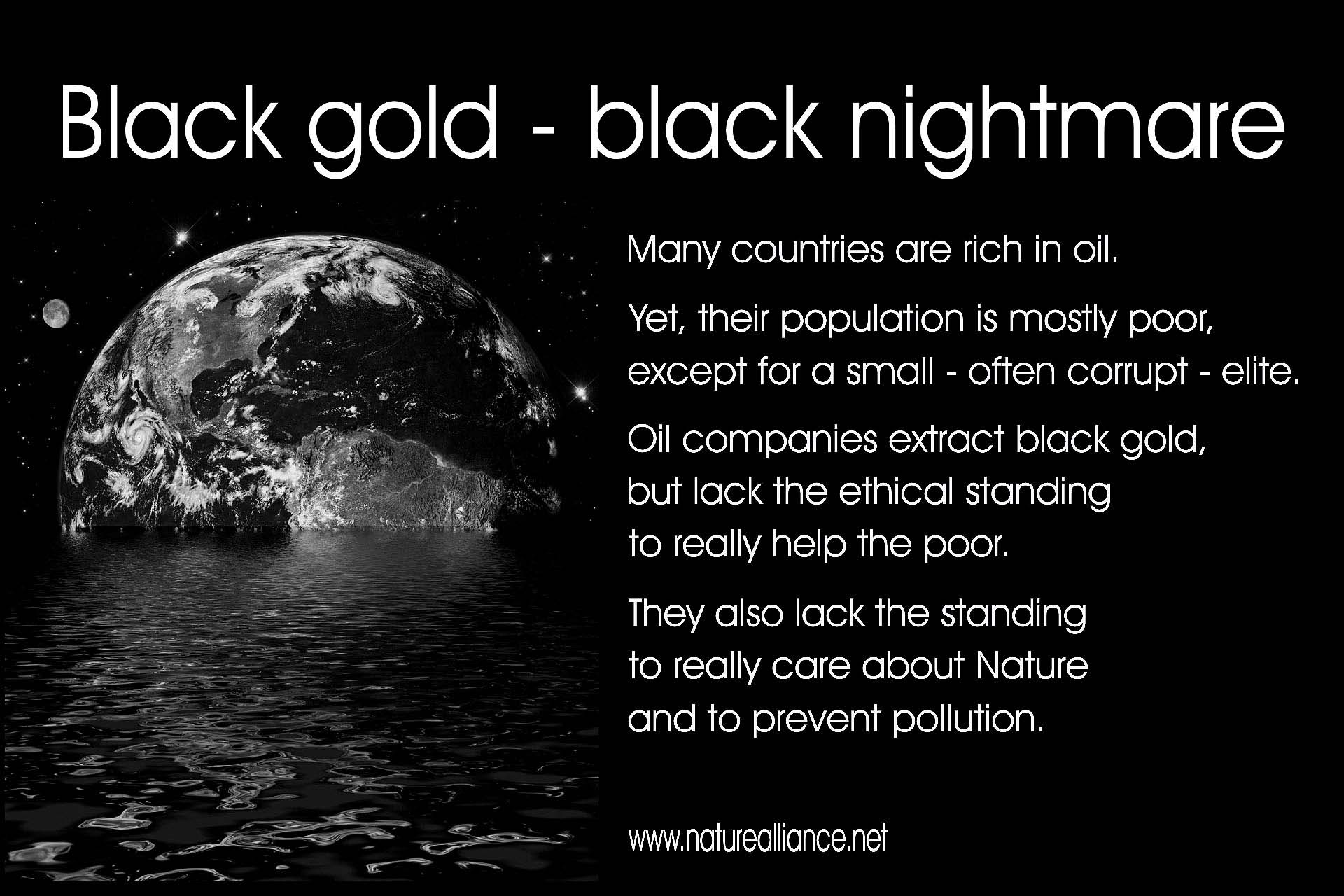 Black gold - black nightmare