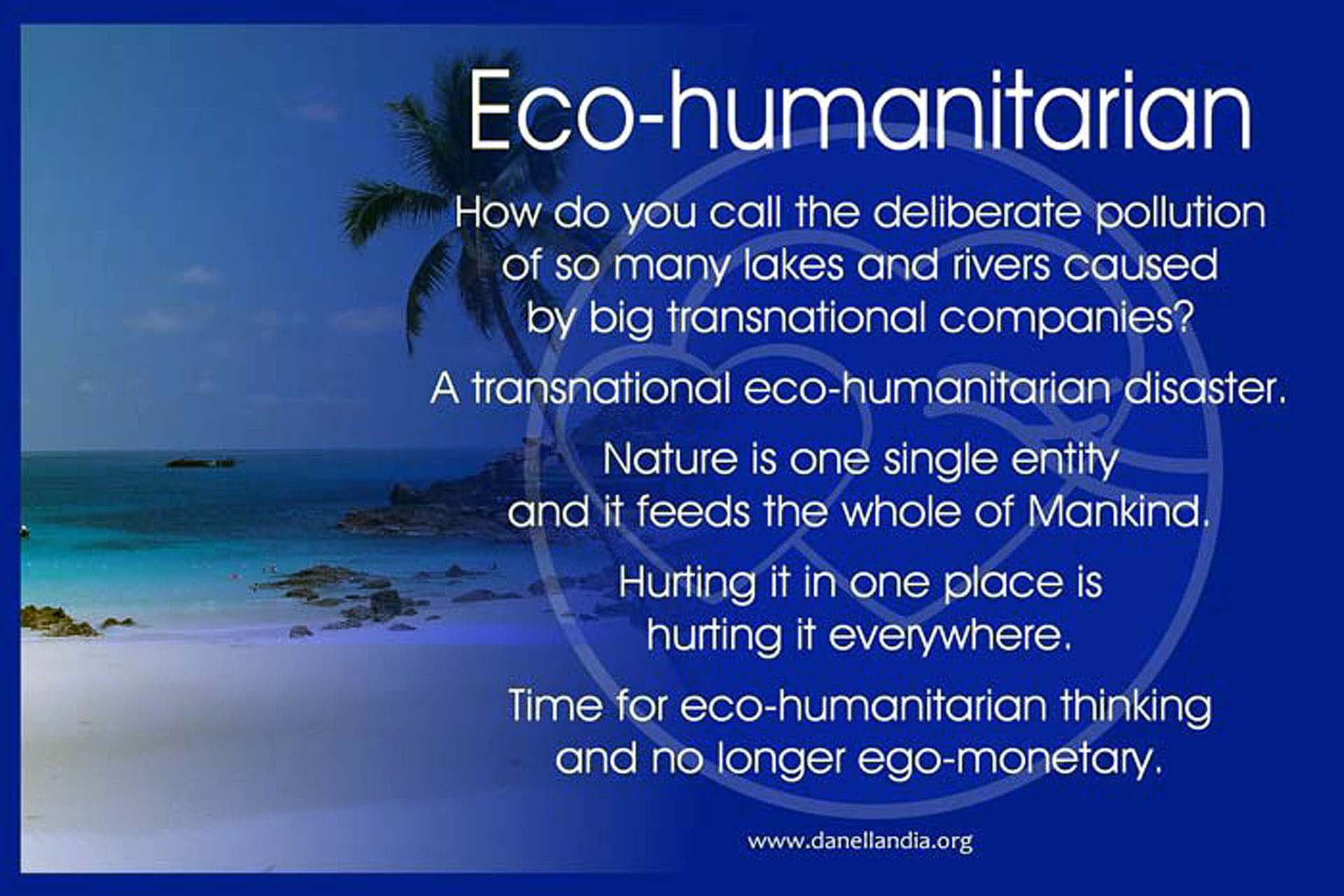 Eco-humanitarian