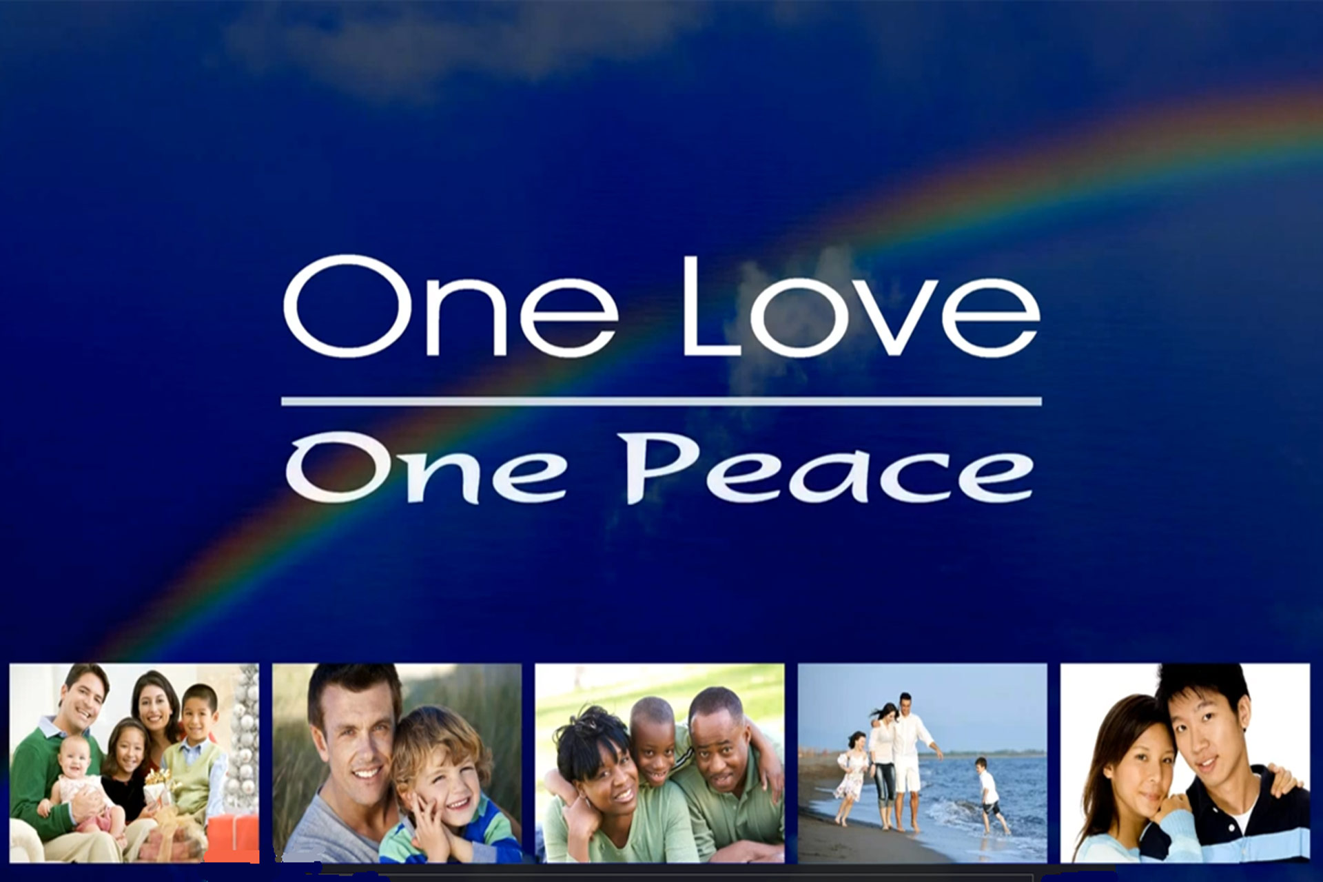 One Love - one Peace