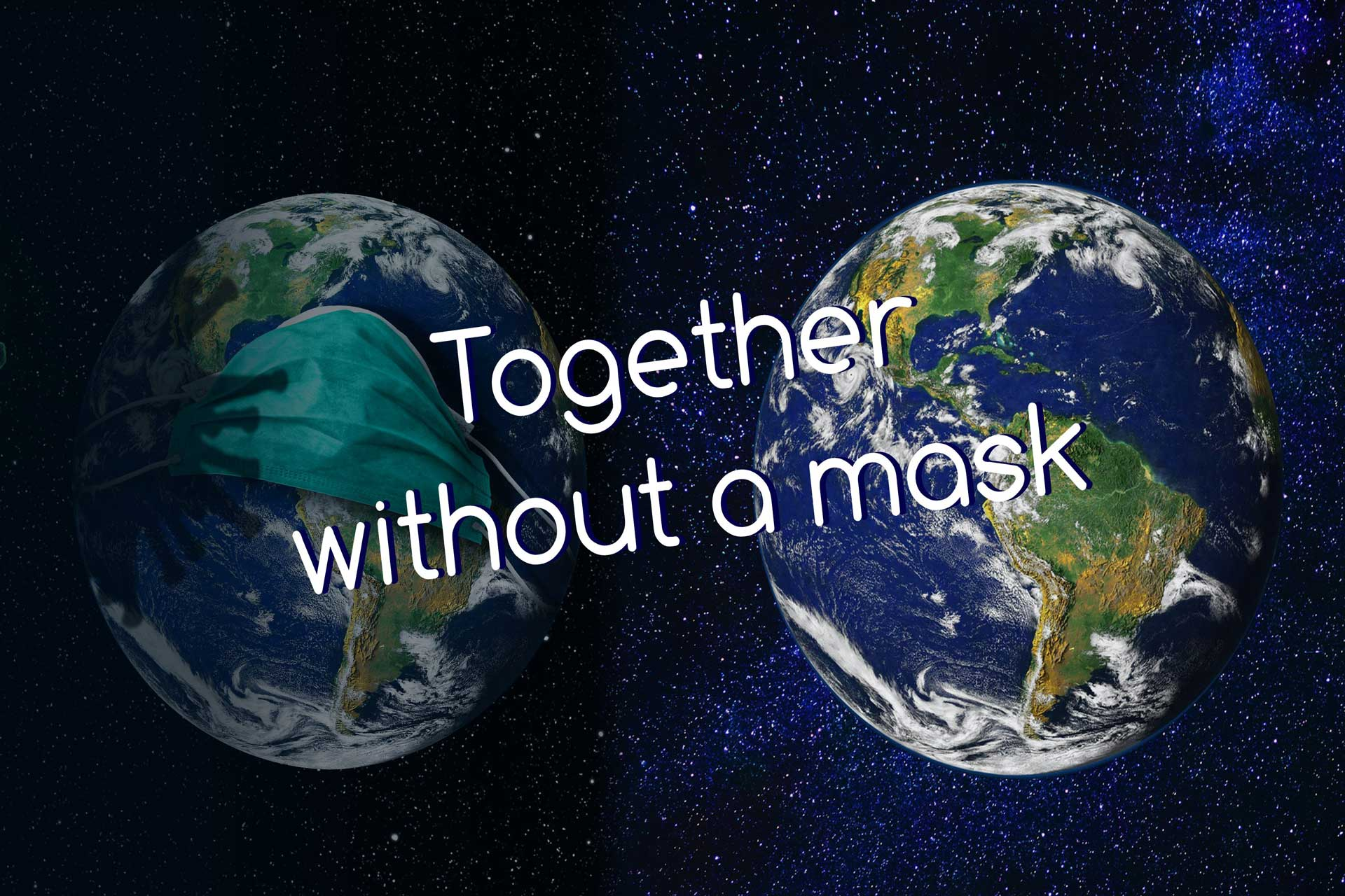 Together without a mask