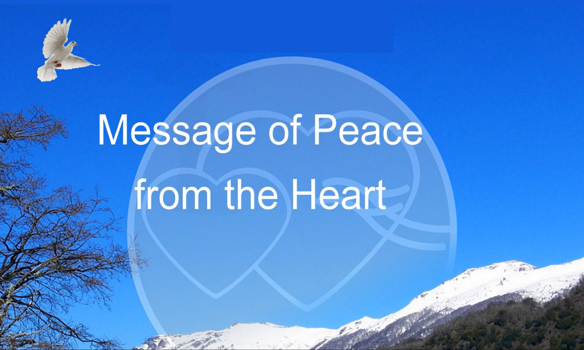 Message of Peace from Heart