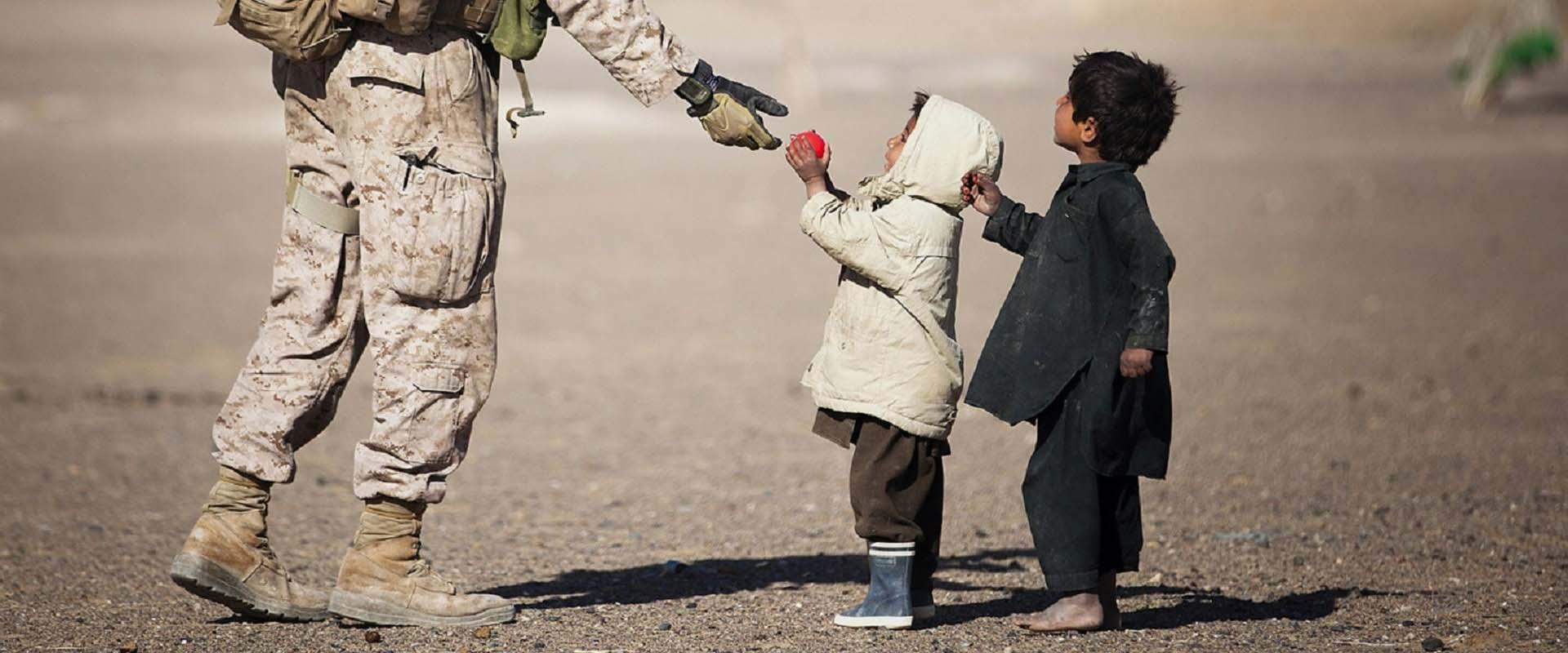Ahmed in Irak