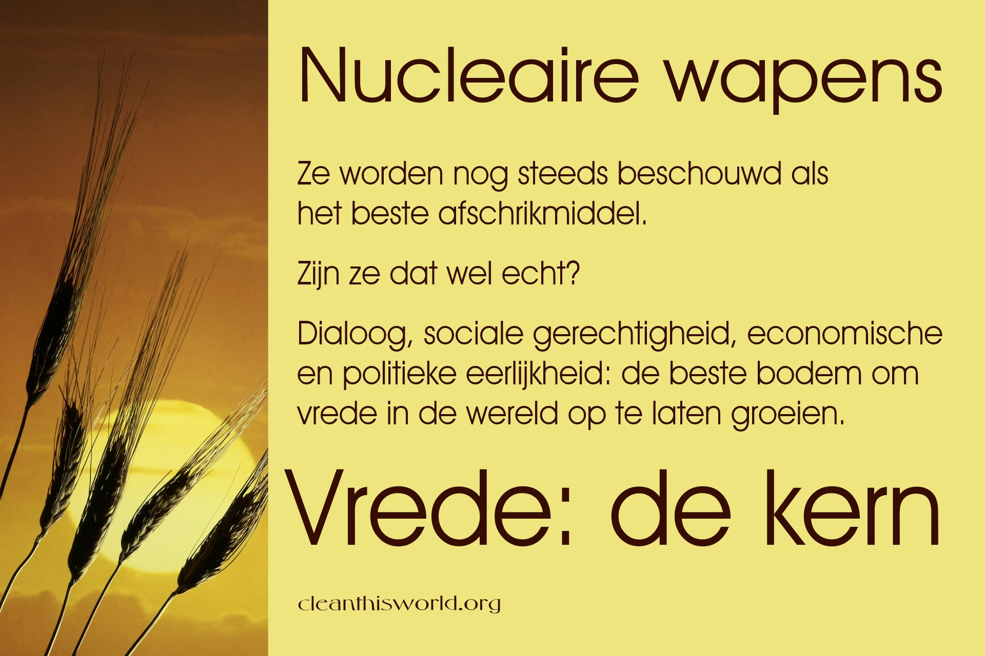 Nucleaire wapens