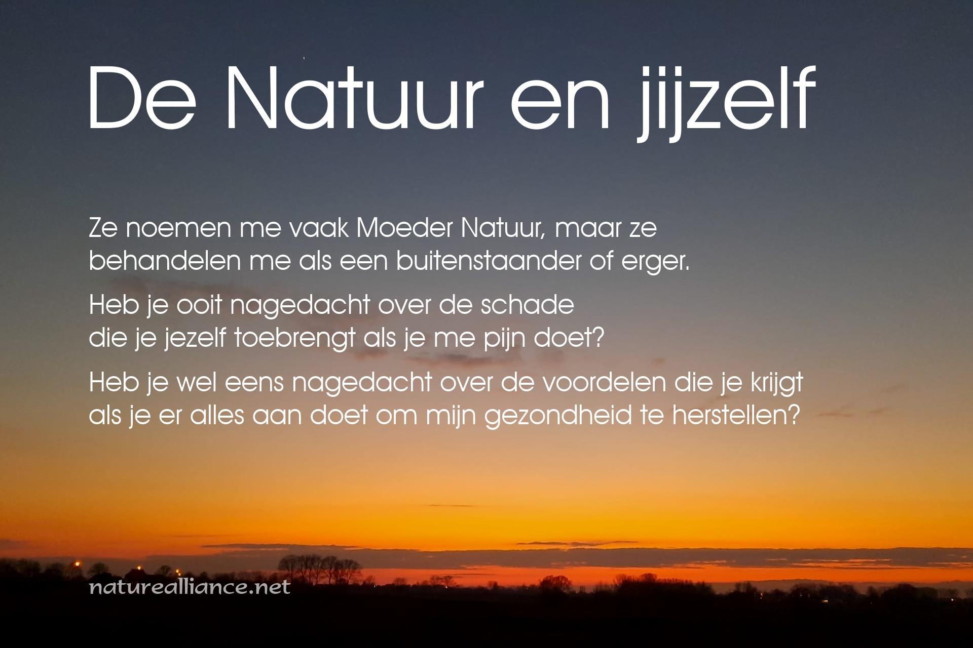 De Natuur en jijzelf