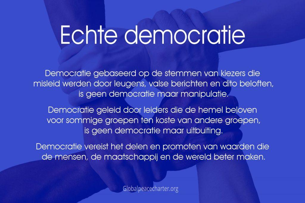 Echte democratie