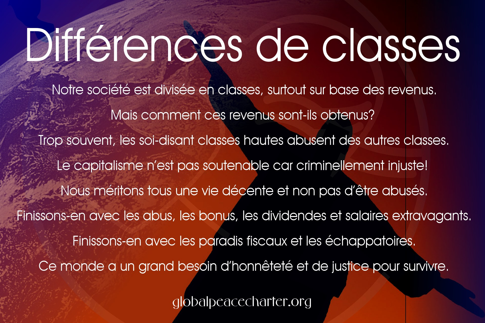 Différences de classes