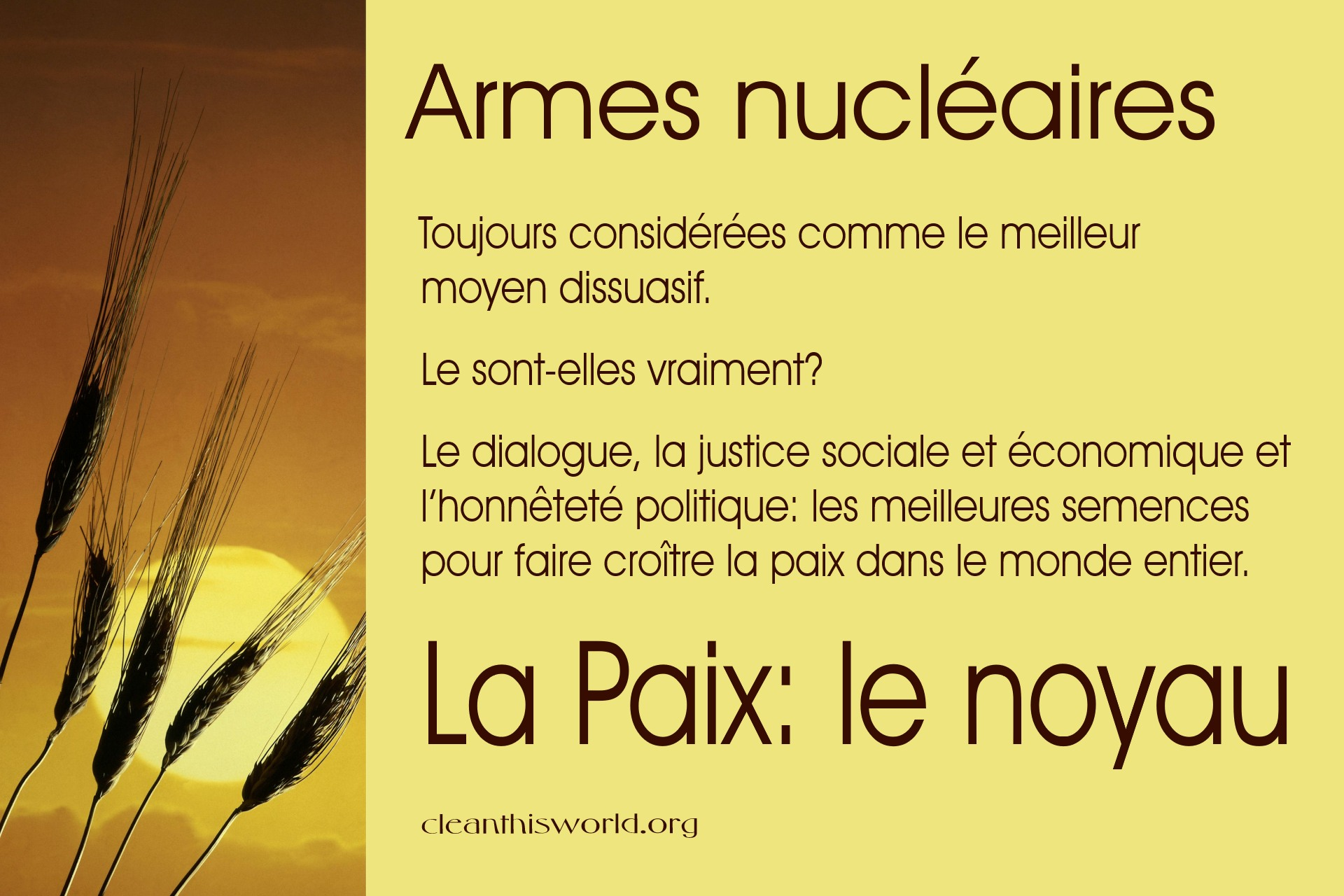 Armes nucléaires