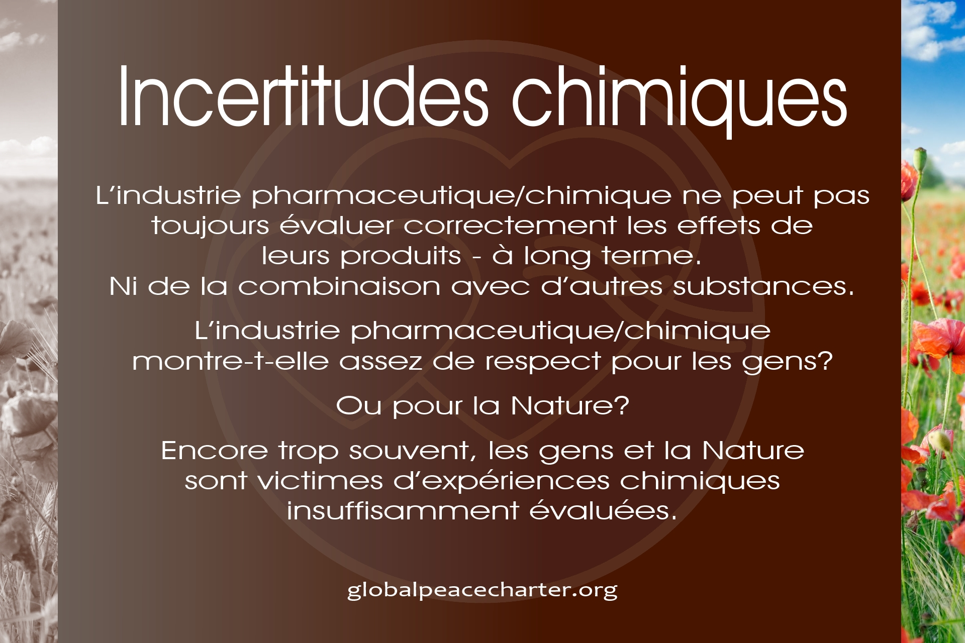 Incertitudes chimiques