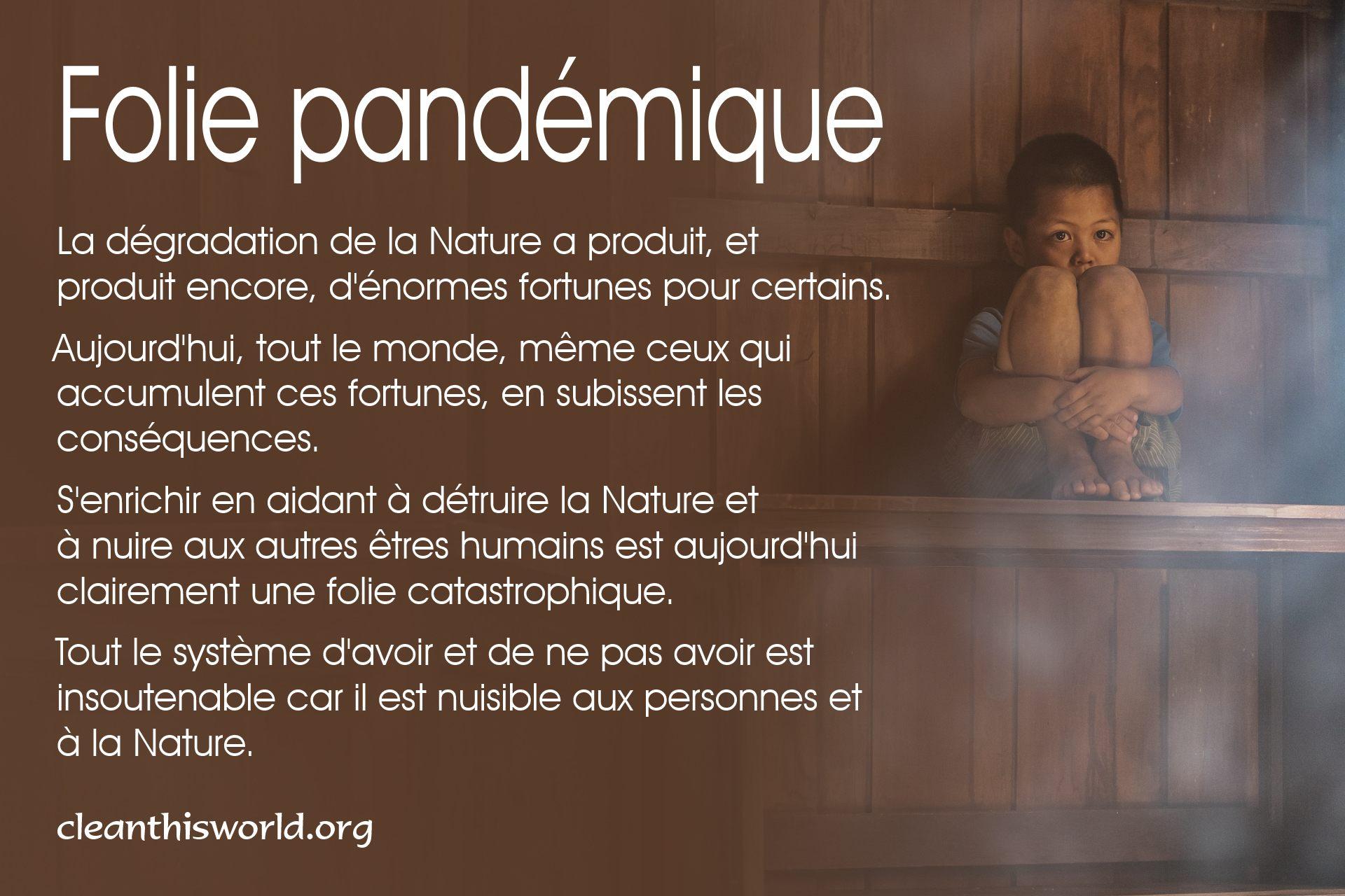 Folie pandémique