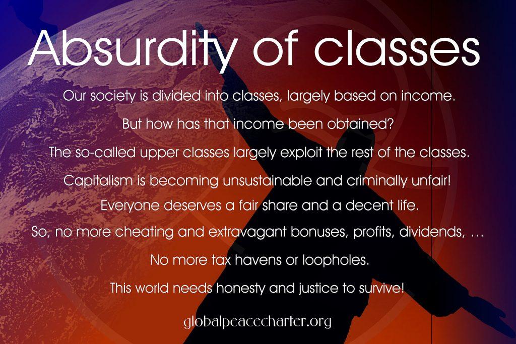 Absurdity of classes
