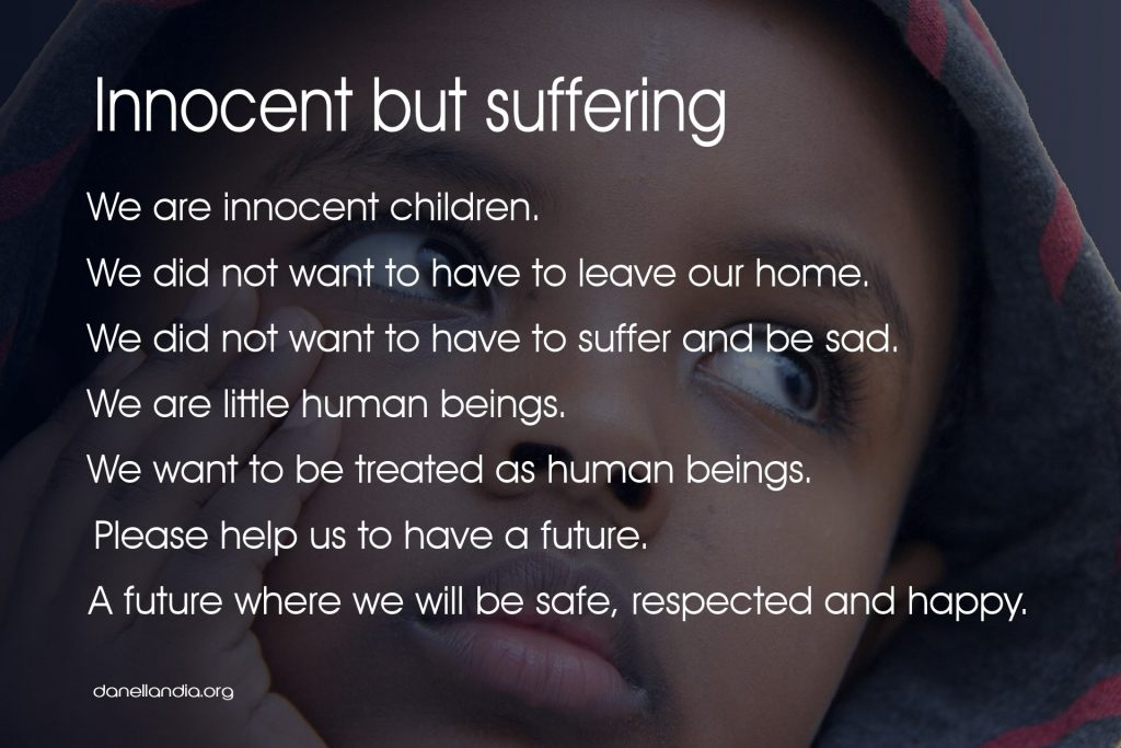 Innocent but suffering