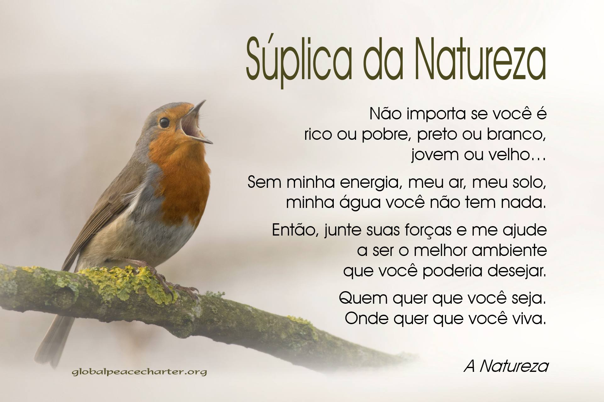 Súplica da Natureza