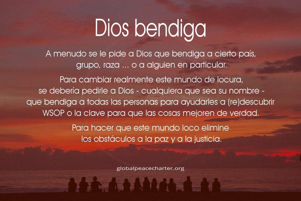 Dios bendiga