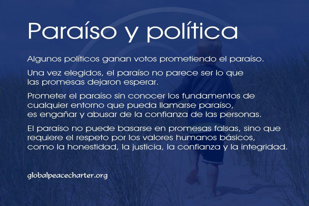 Paraíso y política
