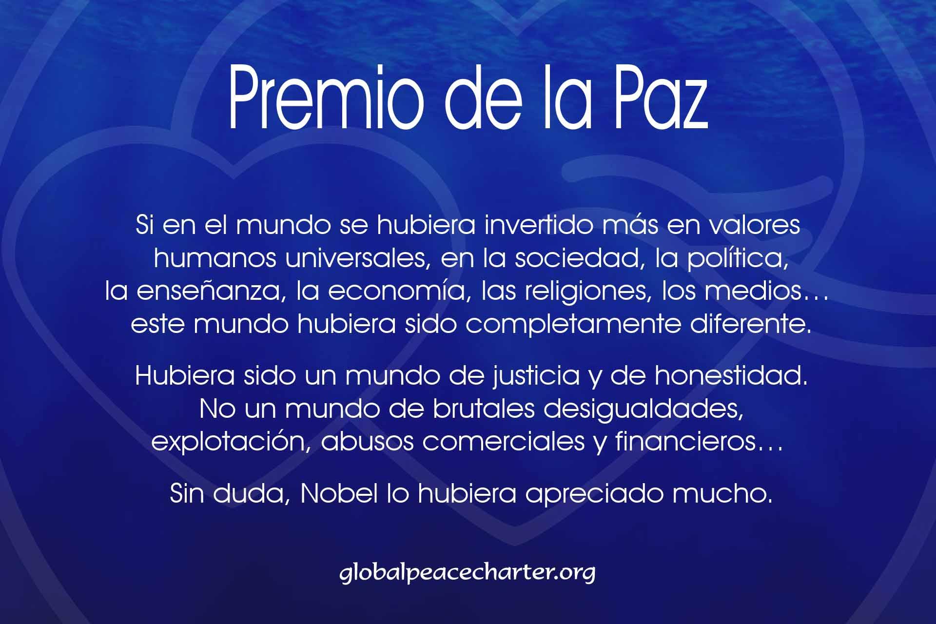Premio de la Paz