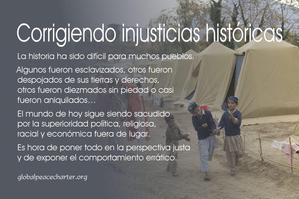 Corrigiendo injusticias históricas