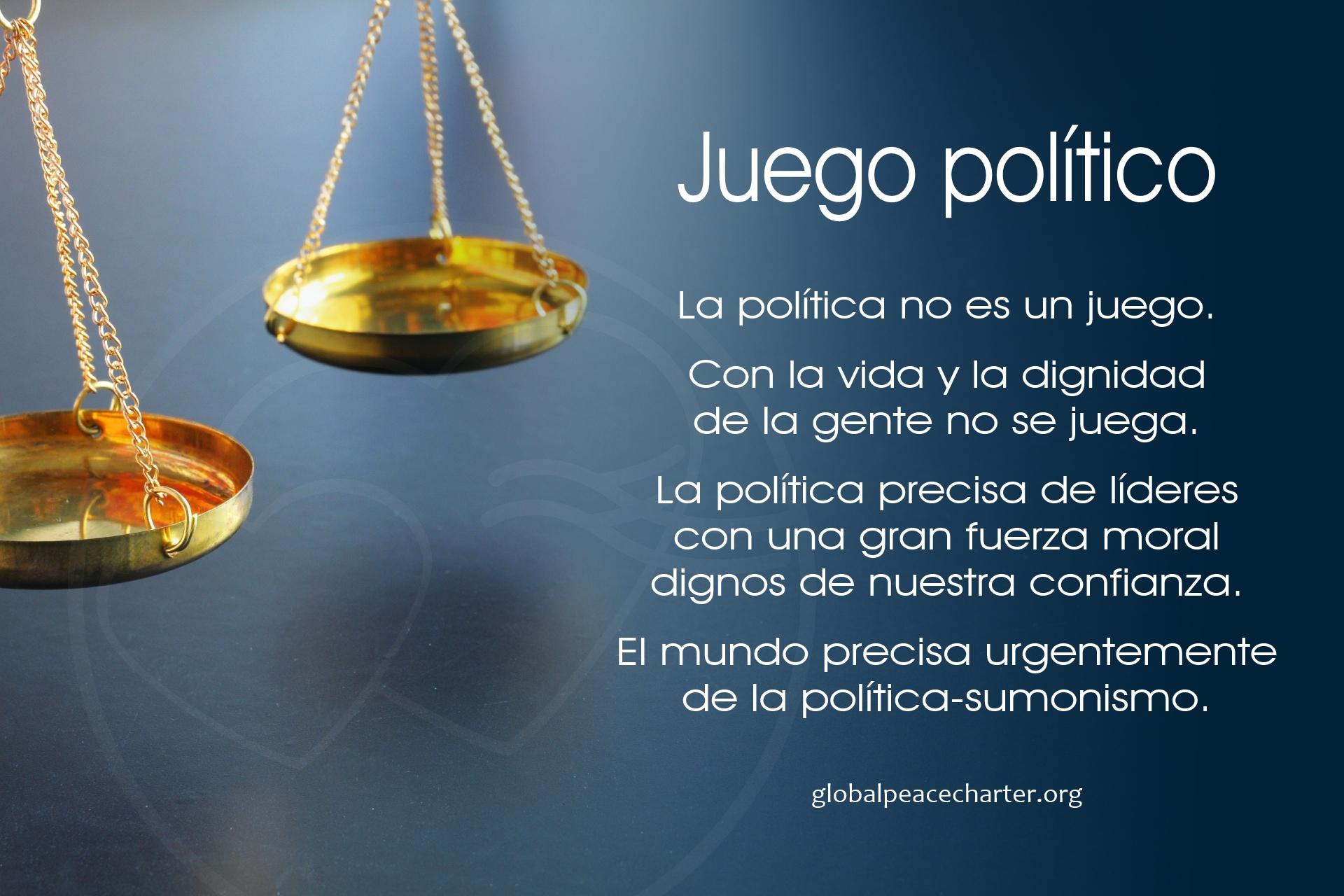 Juego político