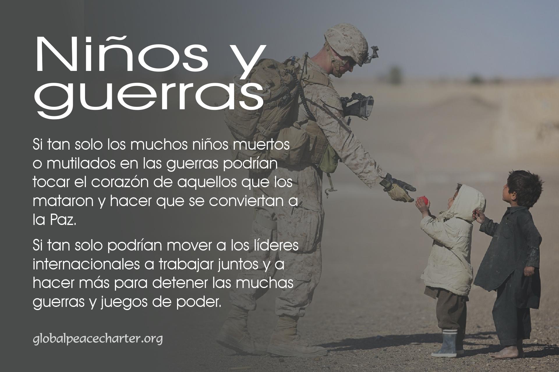 Niños y guerras