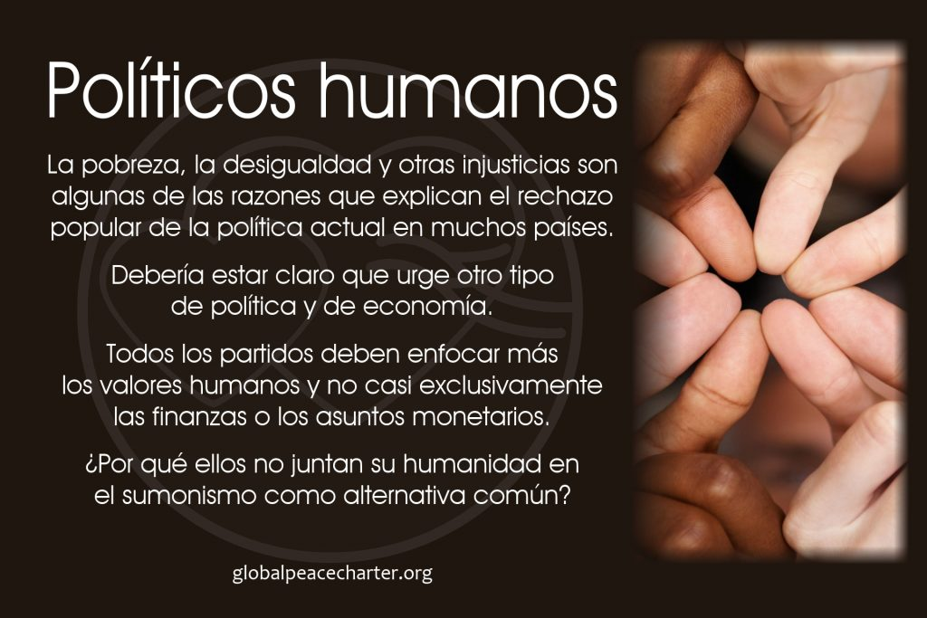 Políticos humanos