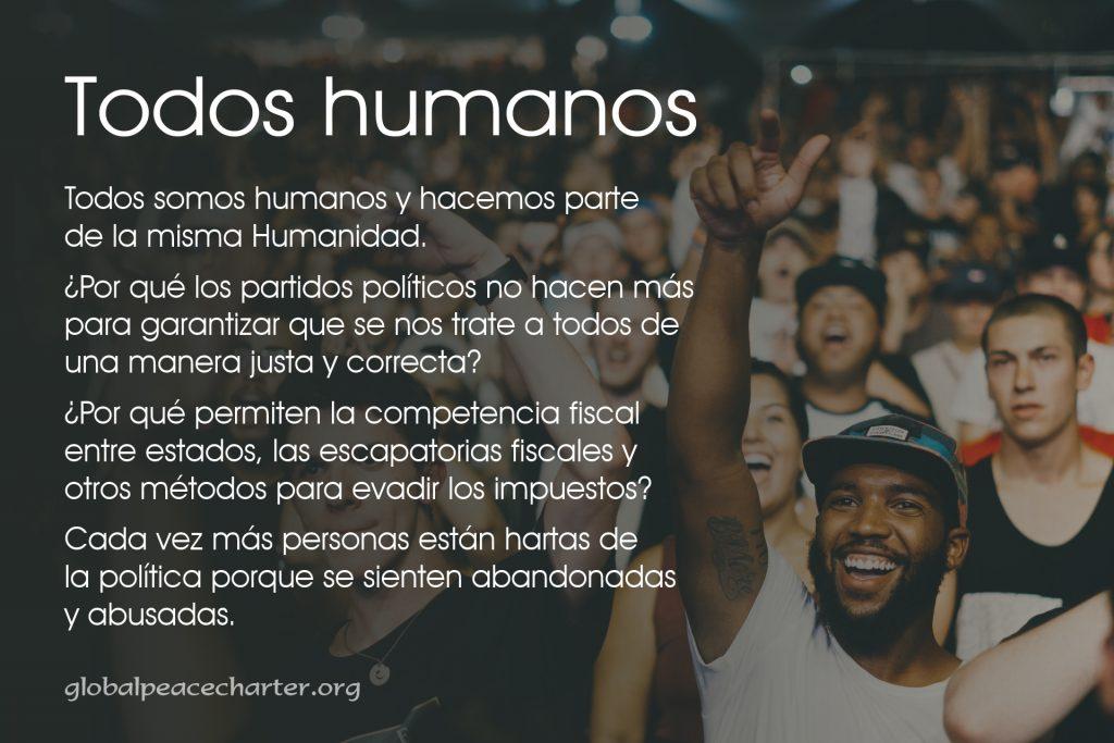 Todos somos humanos