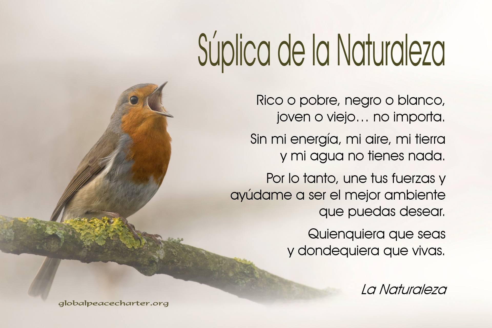 Súplica de la Naturaleza