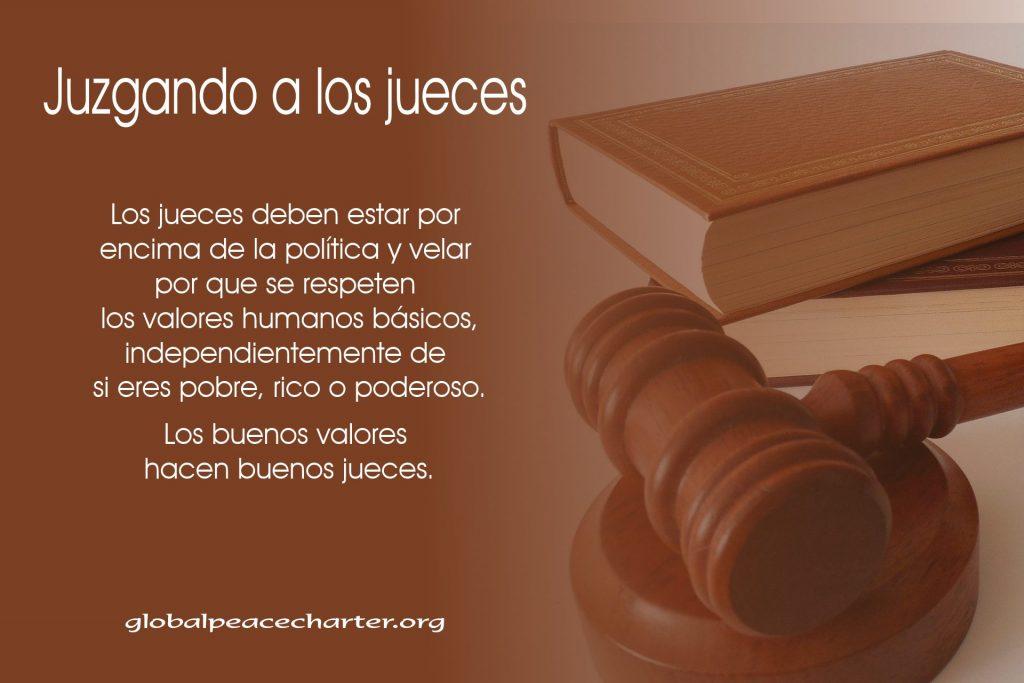 Juzgando a los jueces