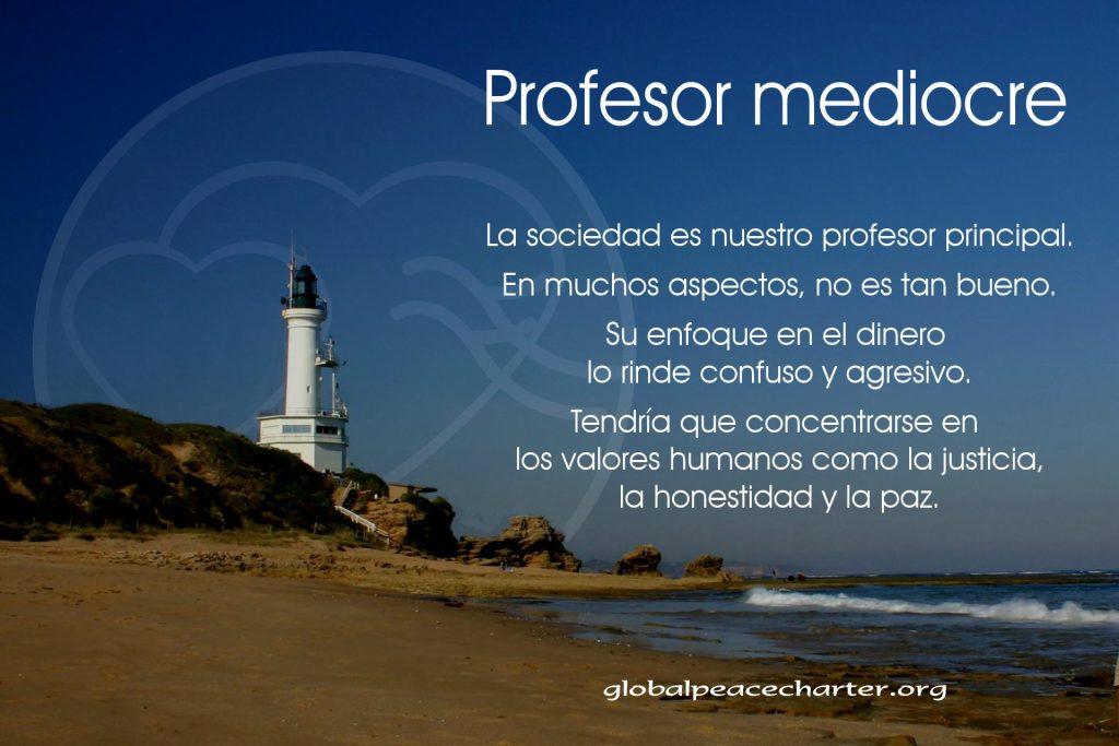 Profesor mediocre