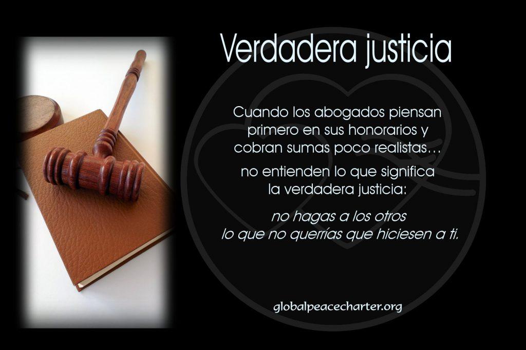 Verdadera justicia