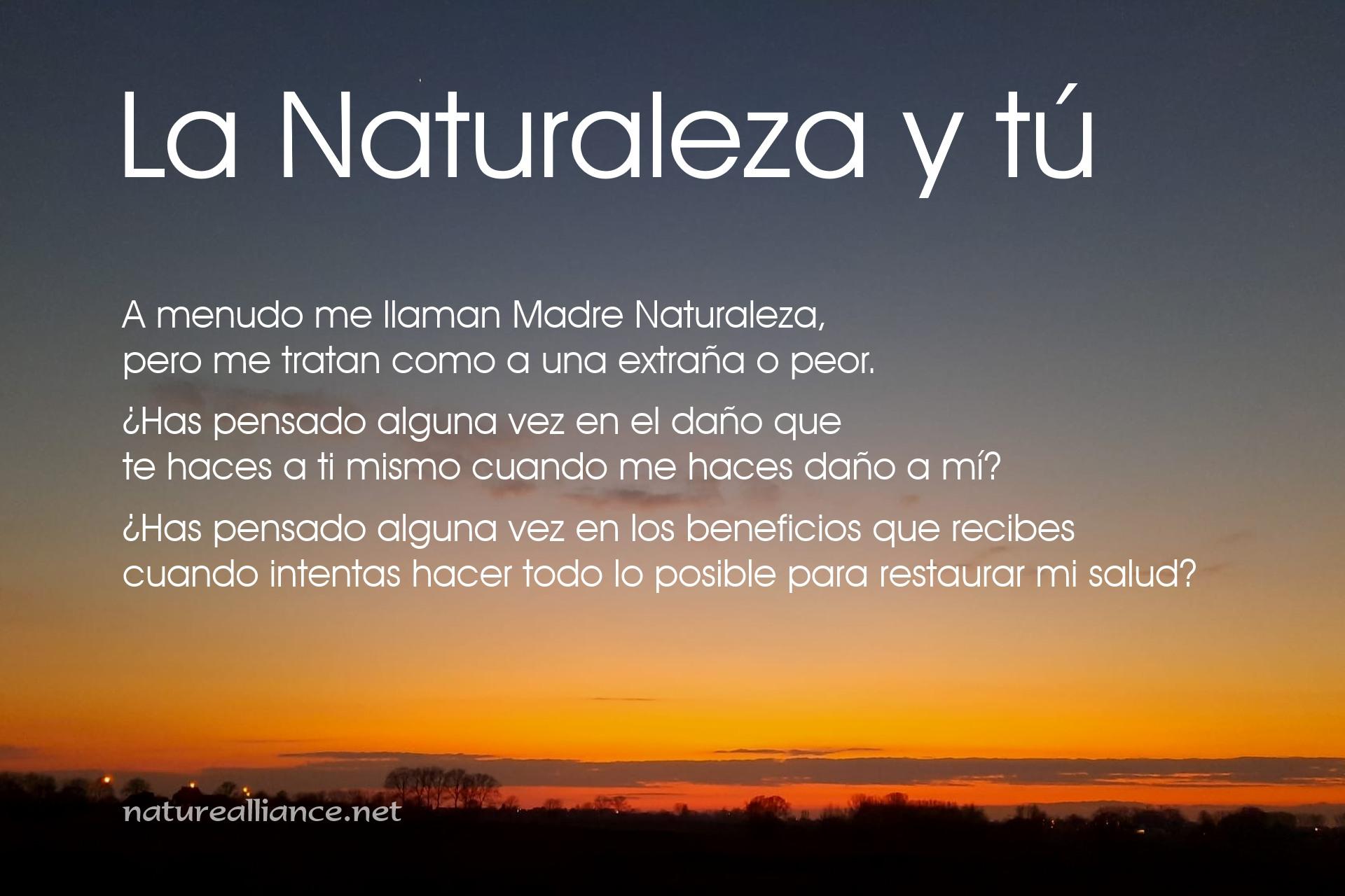 La Naturaleza y tú