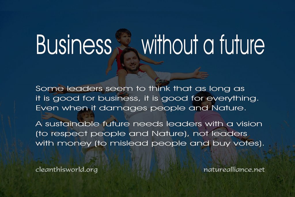Business without a future