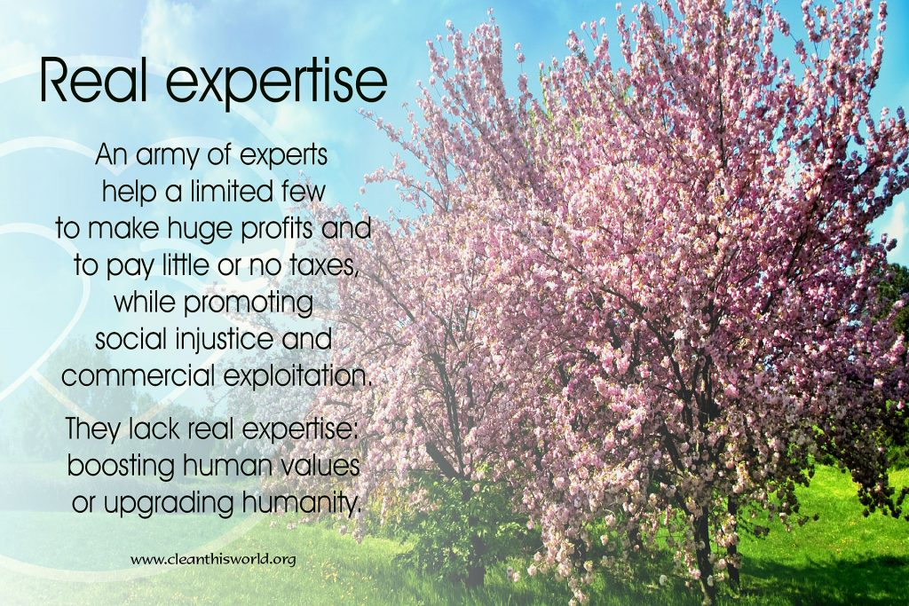Real expertise