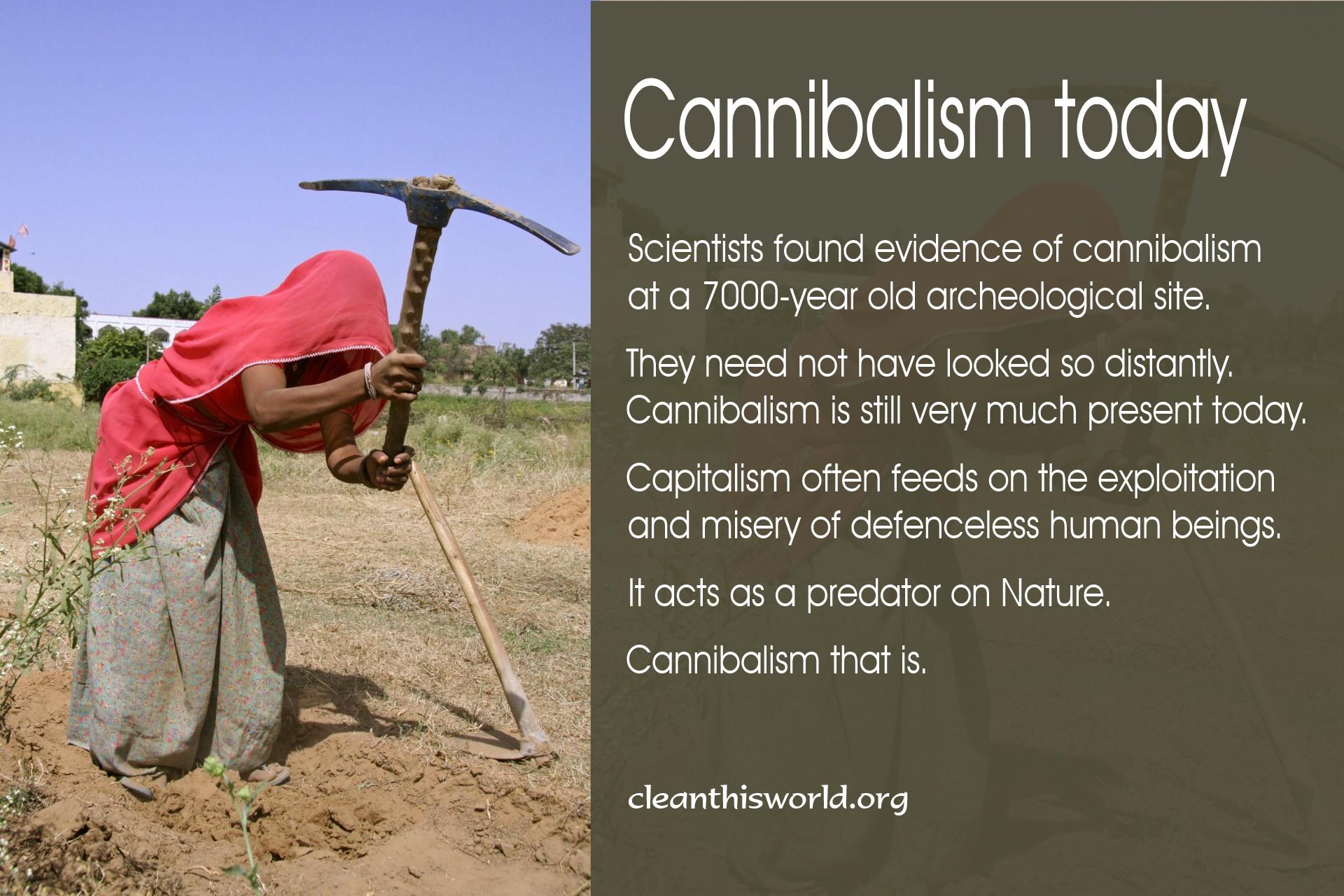 Cannibalism today | Danellandia