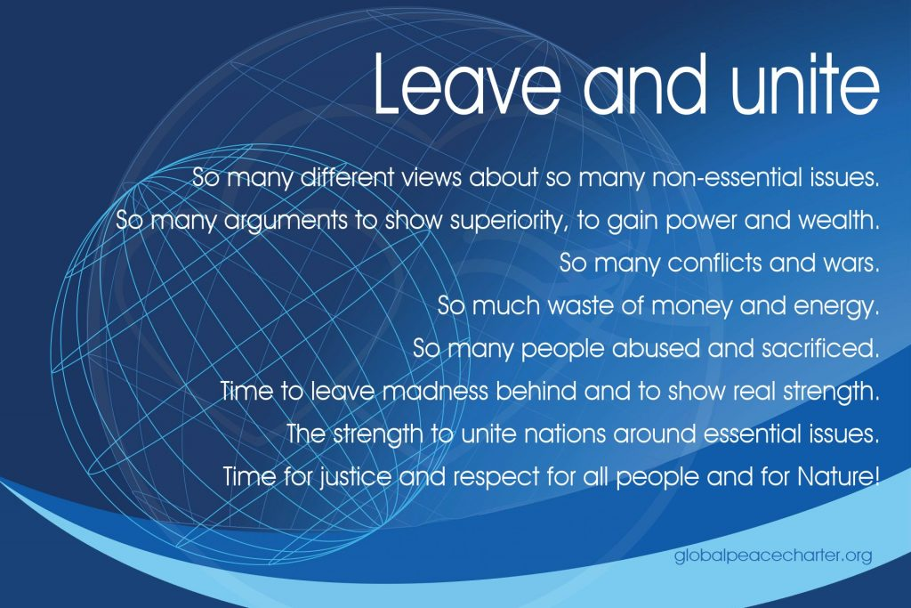 Leave and unite