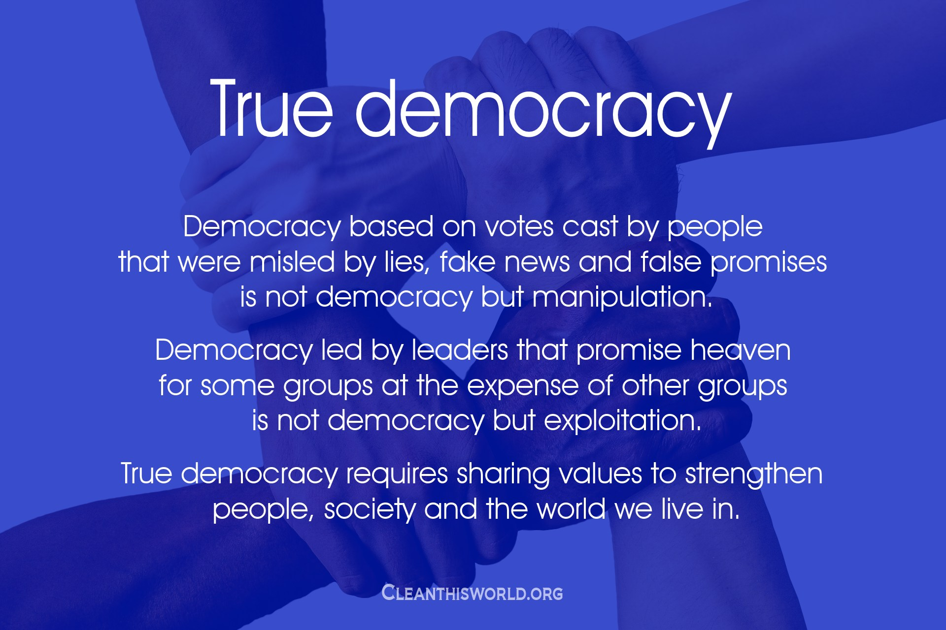 True democracy