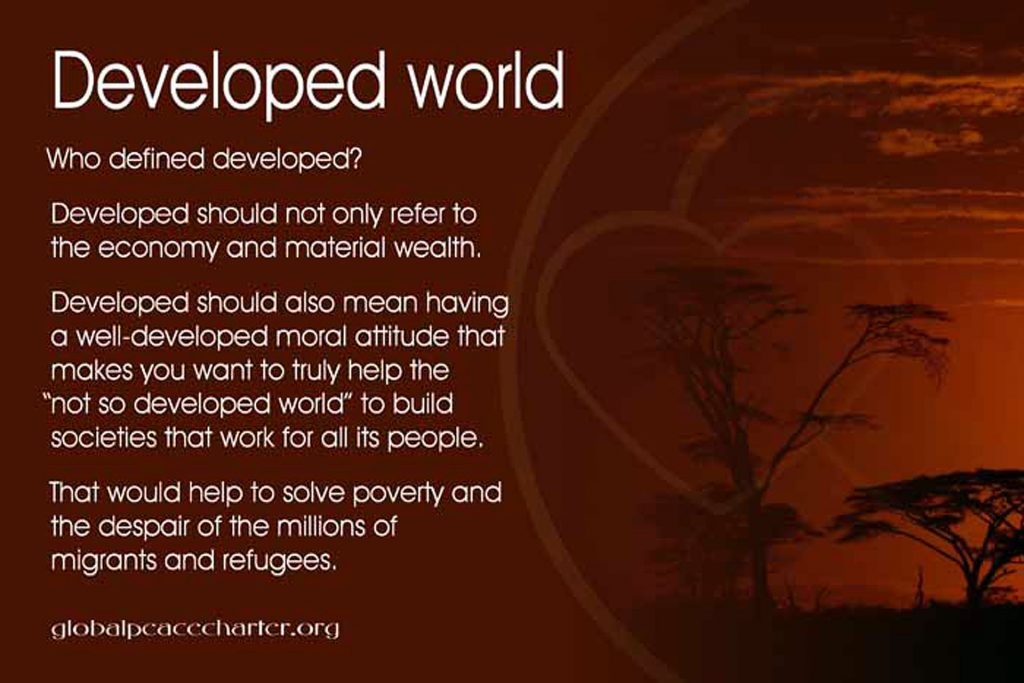 Developed world
