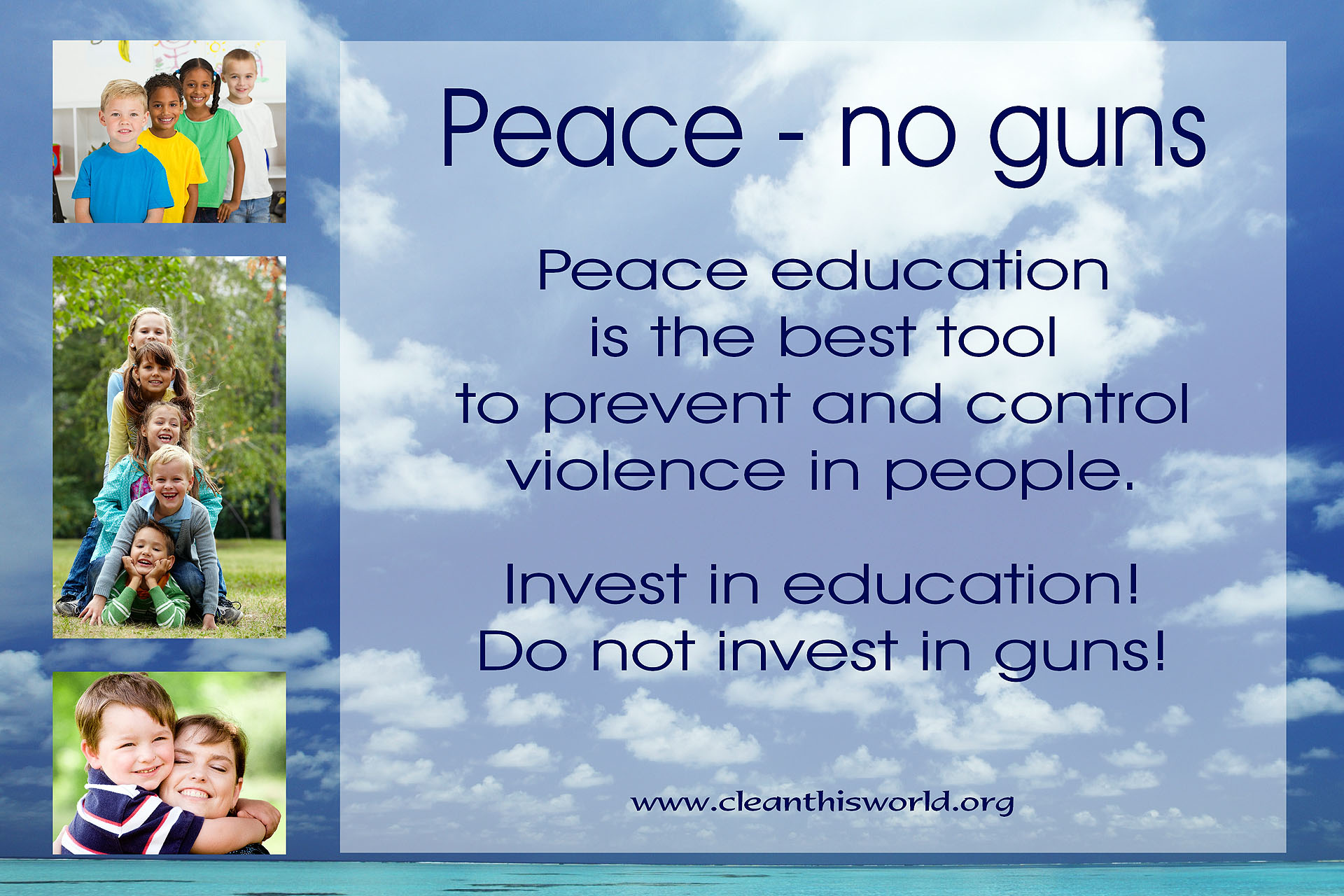 Peace - no guns