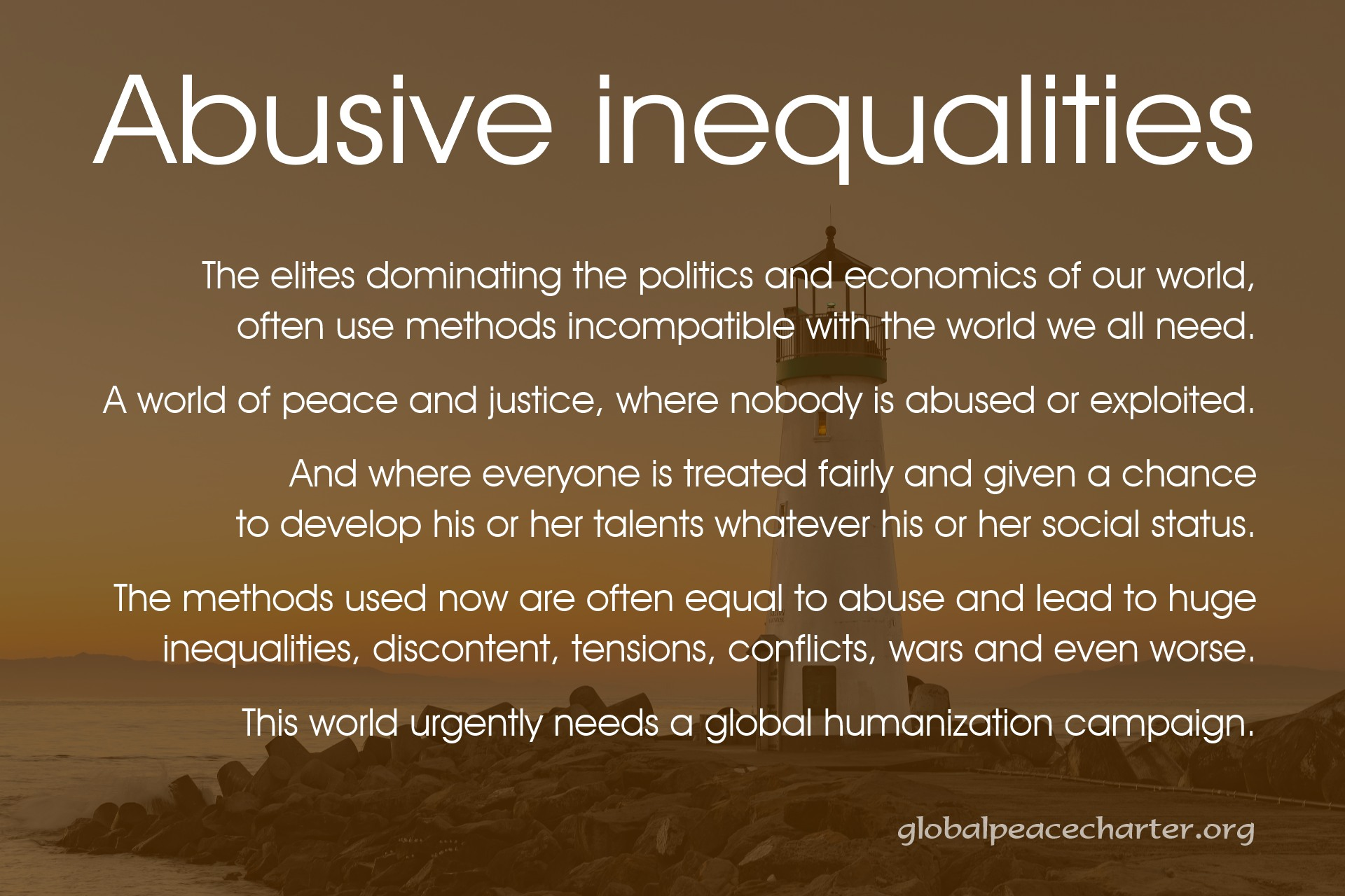 Abusive inequalities