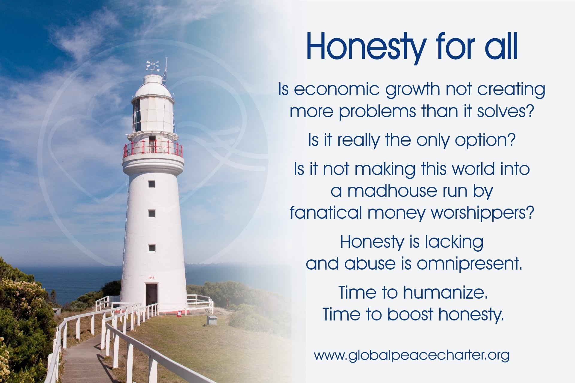 Honesty for all