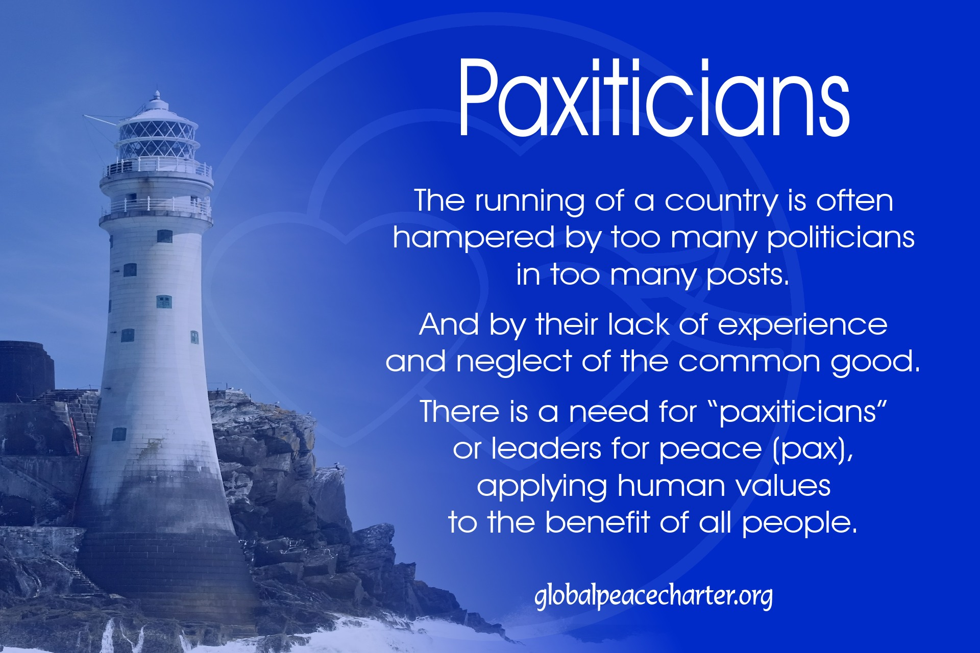 Paxitians - leaders for peace