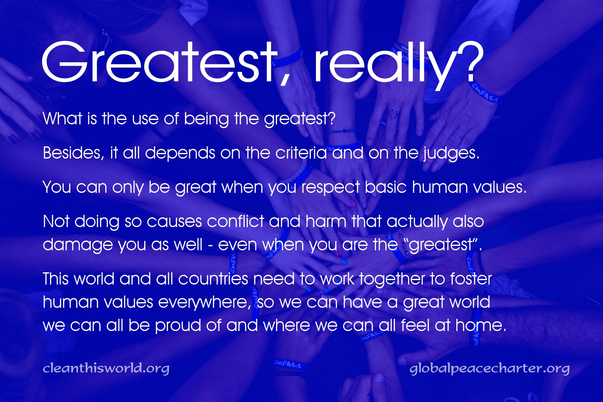 Greatest, really?