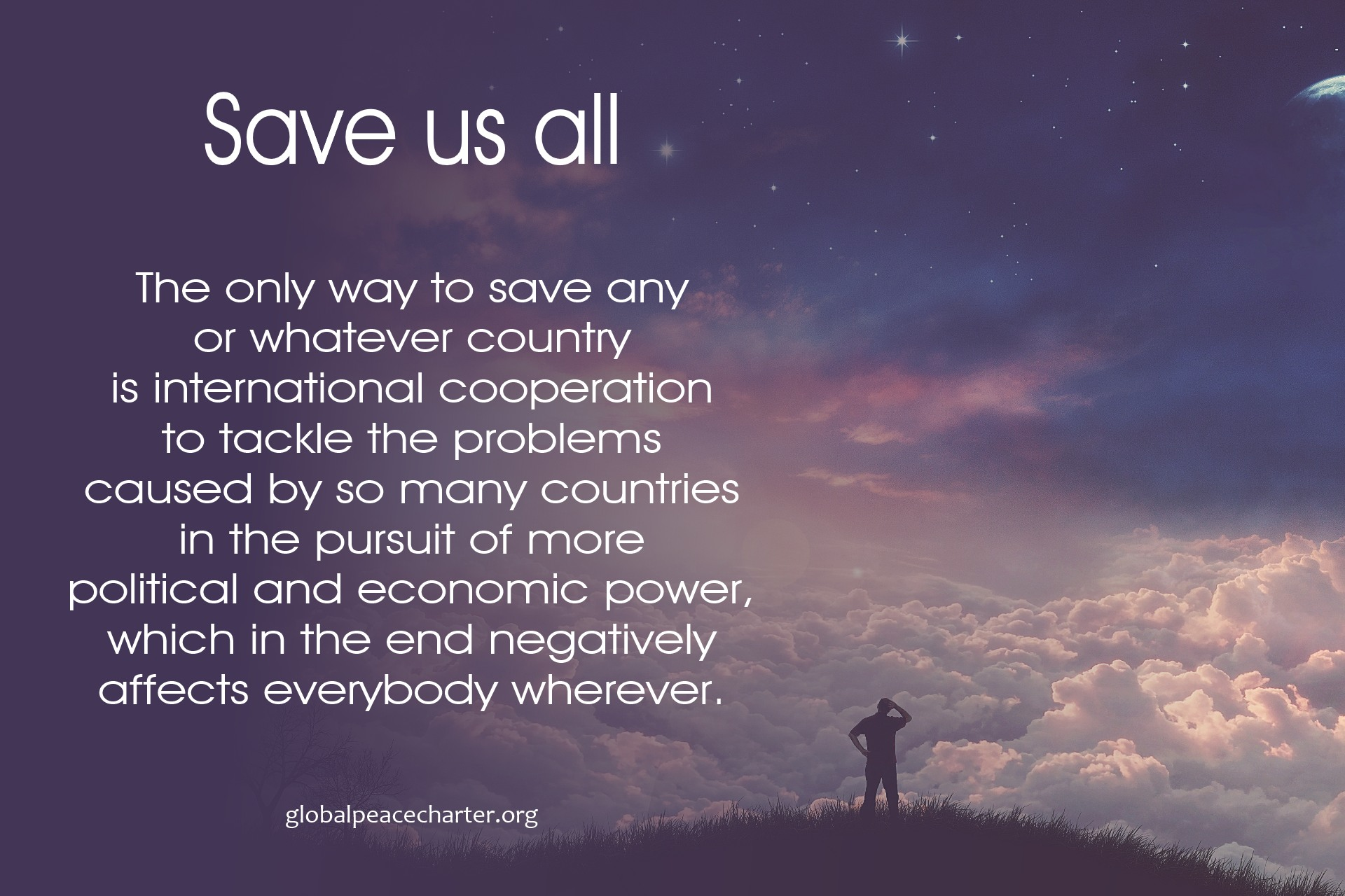 Save us all