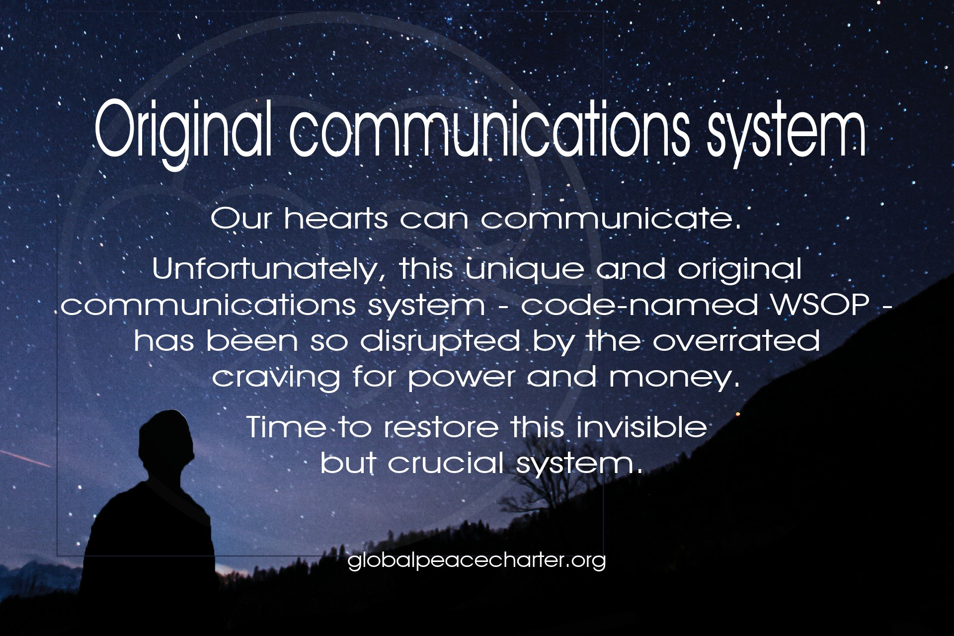 Original communications system