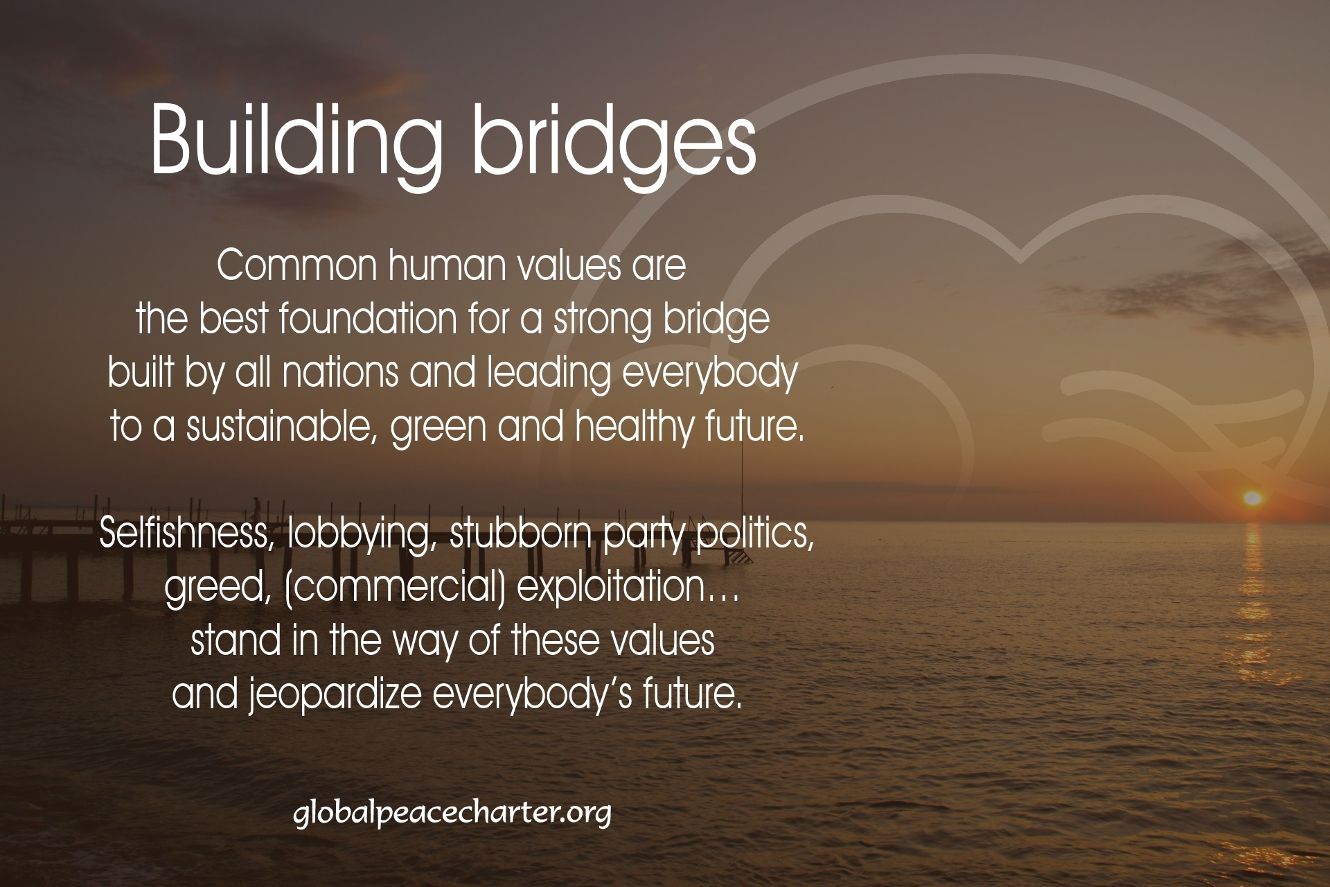 Building bridges