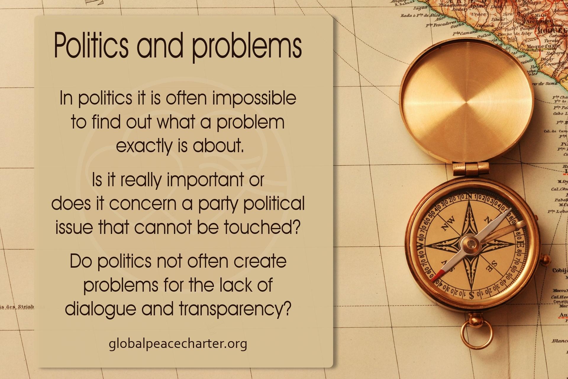 Politics and problems