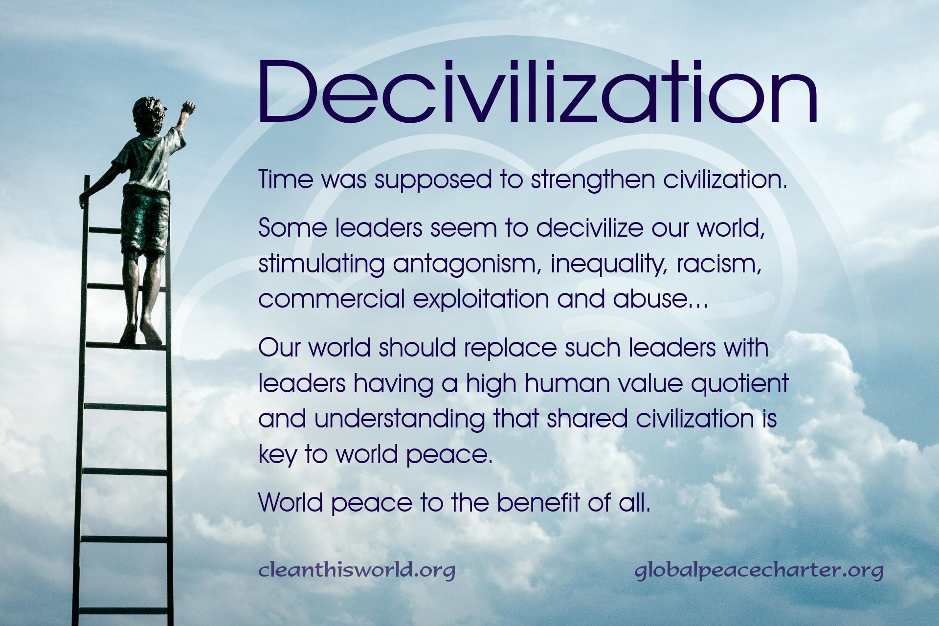 Decivilization