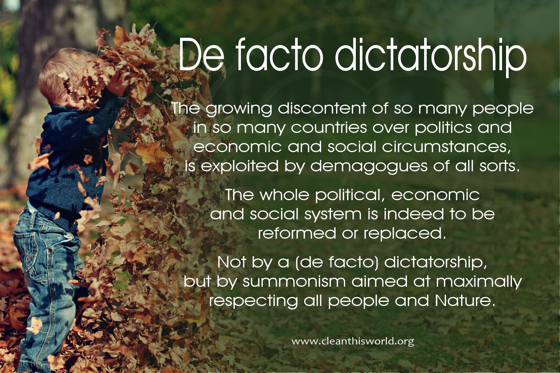 De facto dictatorship