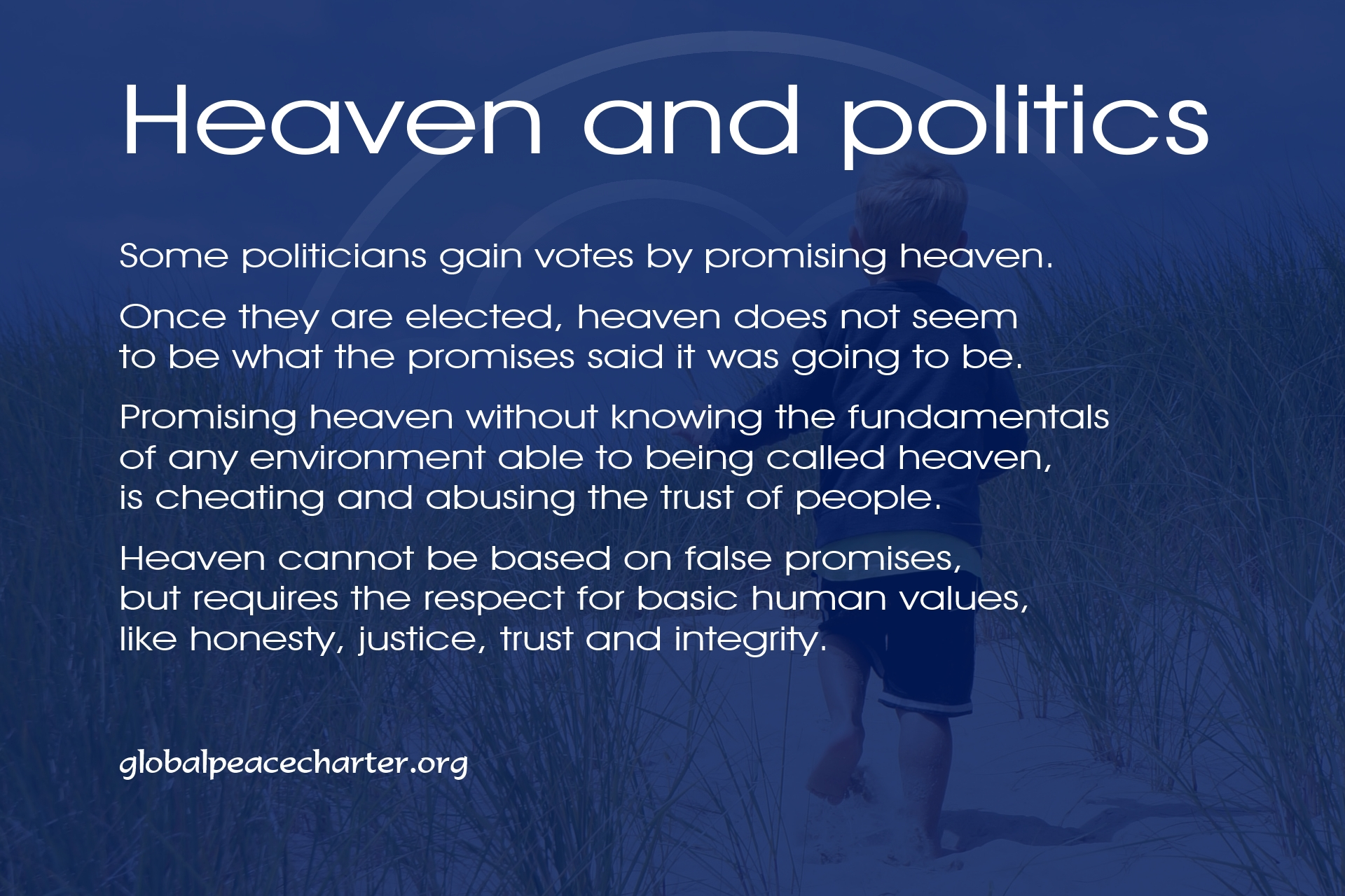 Heaven and politics