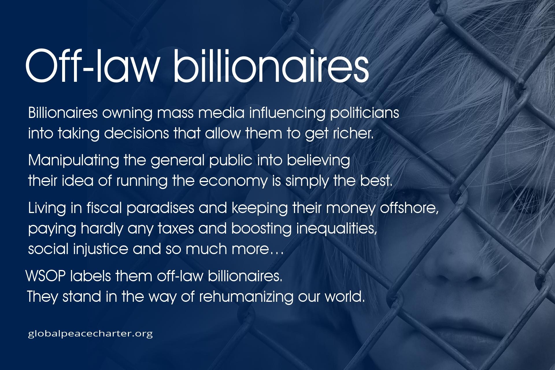 Off-law billionaires