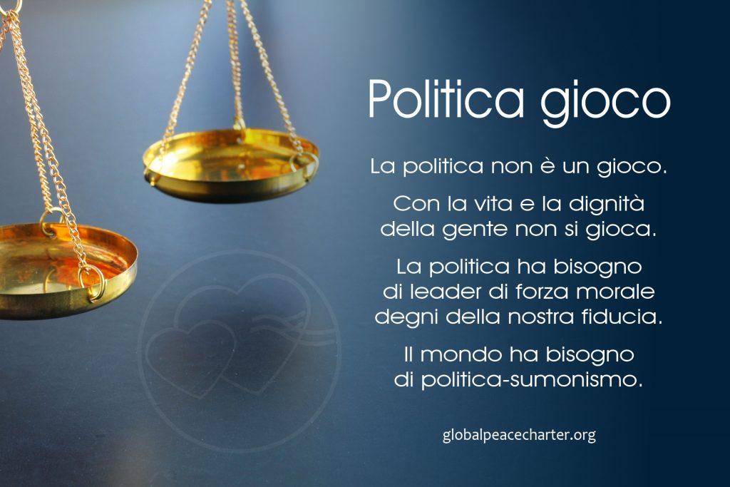 Politica gioco