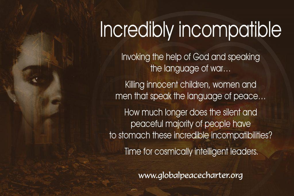 Incredibly incompatible